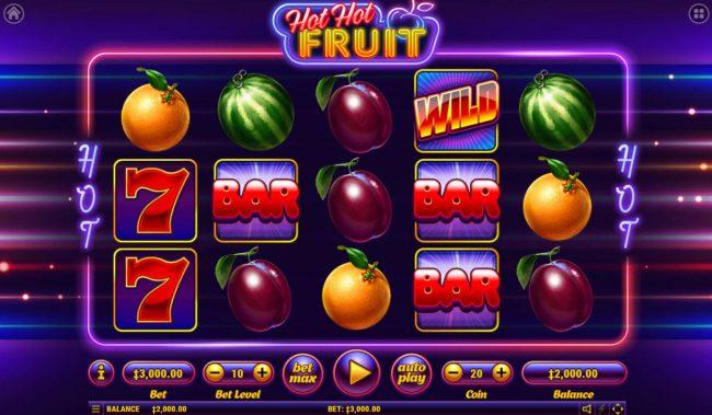 Hot Hot Fruit :: Main Game Board