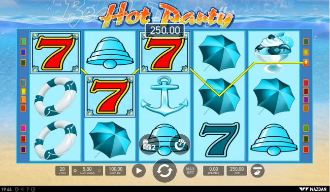 Hot Party :: A winning three of a kind