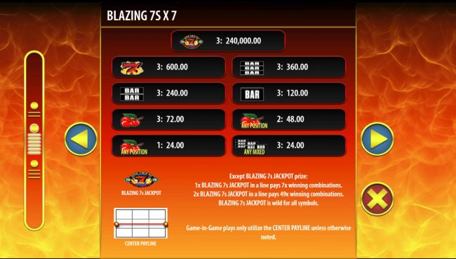 CasinoCasino featuring the Video Slots Hot Shot Progressive with a maximum payout of $250,000