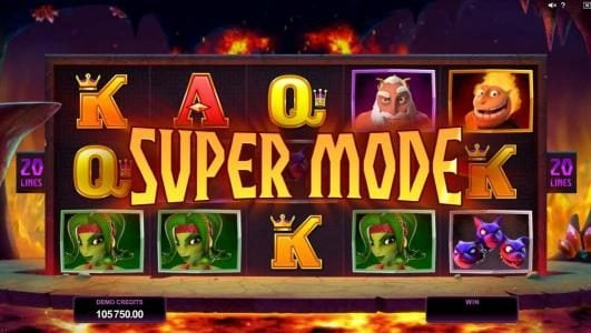 Kerching featuring the Video Slots Hot as Hades with a maximum payout of $500,000