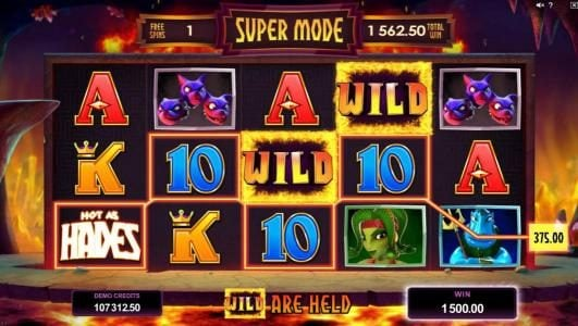 Spin Station featuring the Video Slots Hot as Hades with a maximum payout of $500,000