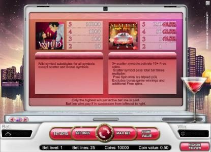 Mr Play featuring the Video Slots Hot City with a maximum payout of $20,000