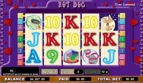 Casumo featuring the video-Slots Hot Dog with a maximum payout of 8,000x