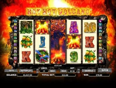 Orientxpress featuring the Video Slots Hot Hot Volcano with a maximum payout of $1,000