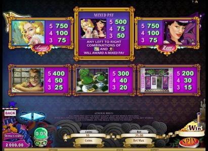 Casino Extra featuring the Video Slots Hot Ink with a maximum payout of $306,250