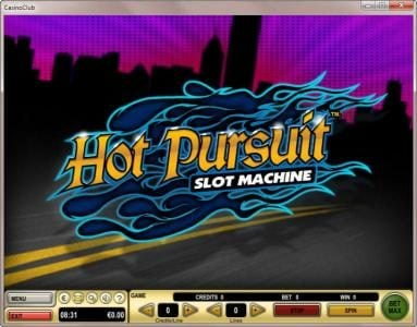 Jetbull featuring the Video Slots Hot Pursuit with a maximum payout of $90,000