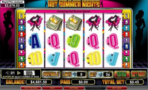 Play slots at Luckland: Luckland featuring the video-Slots Hot Summer Nights with a maximum payout of 5,000x