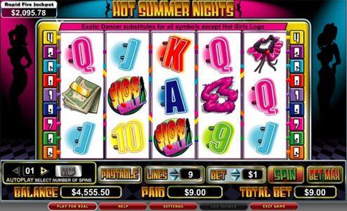 Play slots at Bonanza: Bonanza featuring the video-Slots Hot Summer Nights with a maximum payout of 5,000x