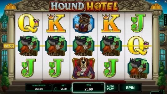 Play slots at Betway: Betway featuring the Video Slots Hound Hotel with a maximum payout of $550,000