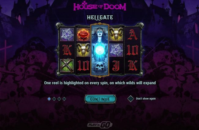 Zet Casino featuring the Video Slots House of Doom with a maximum payout of $100,000