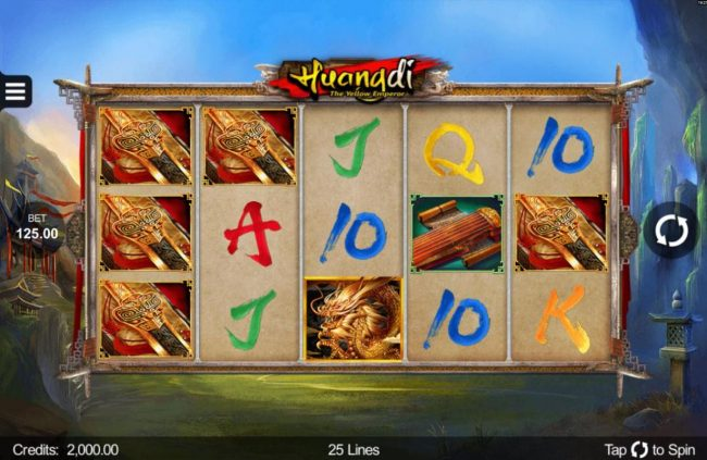 Play slots at Casiplay: Casiplay featuring the Video Slots Huangdi The Yellow Emperor with a maximum payout of $300,000