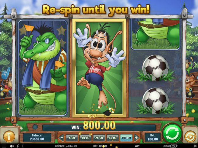 Play slots at House of Jack: House of Jack featuring the Video Slots Hugo Goal with a maximum payout of $80,000