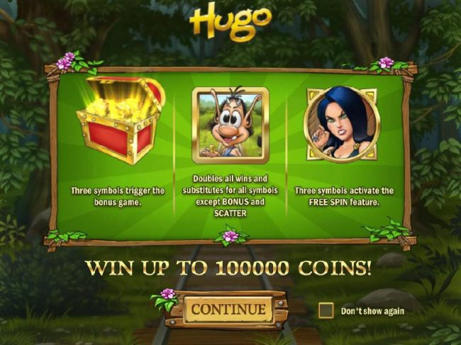 Play slots at Lord of the Spins: Lord of the Spins featuring the Video Slots Hugo with a maximum payout of $20,000