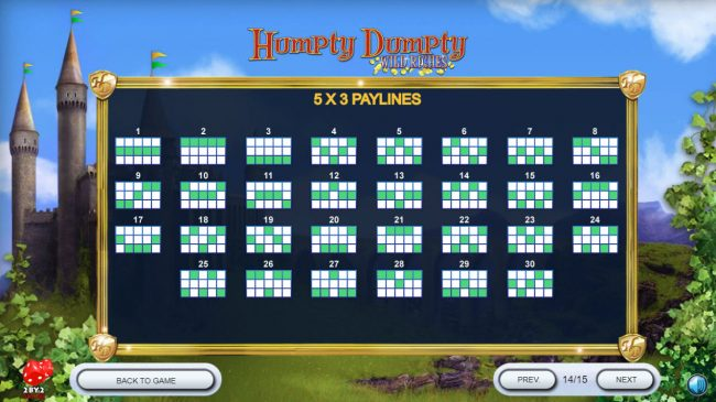 Caribic featuring the Video Slots Humpty Dumpty Wild Riches with a maximum payout of $120,000