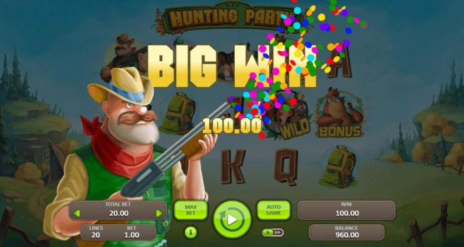 Hunting Party :: A 100.00 big win!