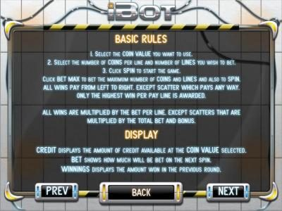 Betive featuring the Video Slots iBot with a maximum payout of $12,500