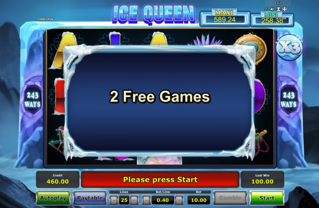 Ice Queen :: Respin triggered