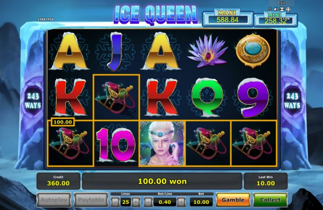 Ice Queen :: A winning five of a kind