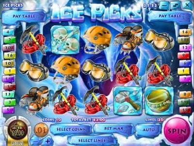 Superbet Palace featuring the Video Slots Ice Picks with a maximum payout of $22,500