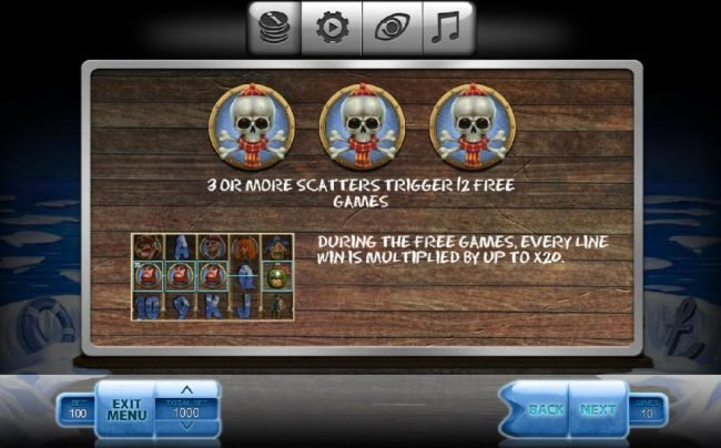 Play slots at 24K Casino: 24K Casino featuring the Video Slots Ice Pirates with a maximum payout of $500,000