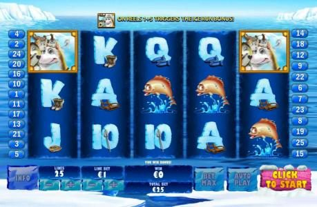 AdamEve featuring the Video Slots Ice Run with a maximum payout of $200,000