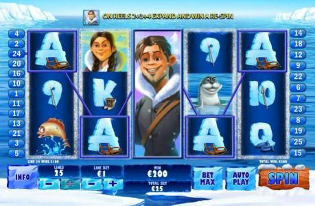 Play slots at Titanbet.it: Titanbet.it featuring the Video Slots Ice Run with a maximum payout of $200,000