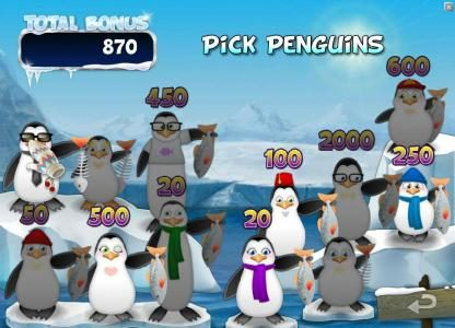 Spinzilla featuring the Video Slots Icy Wonders with a maximum payout of $15,000