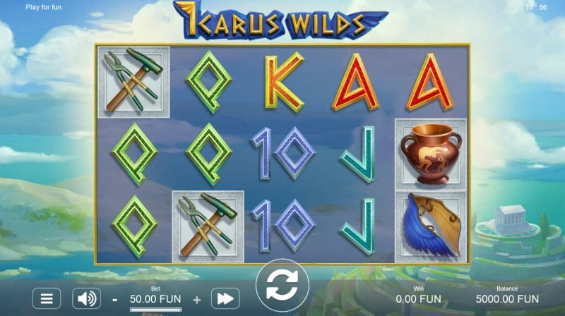 Icarus Wilds :: Main Game Board