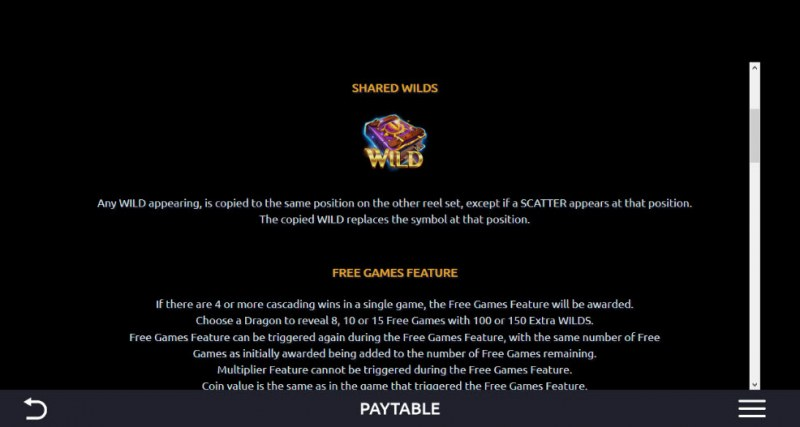 Ice and Fire :: Free Spins Rules