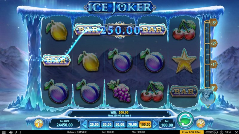 Ice Joker :: A four of a kind win