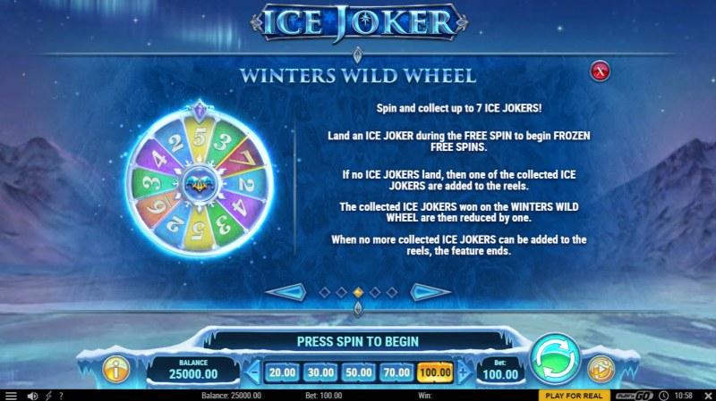 Ice Joker :: Bonus Feature