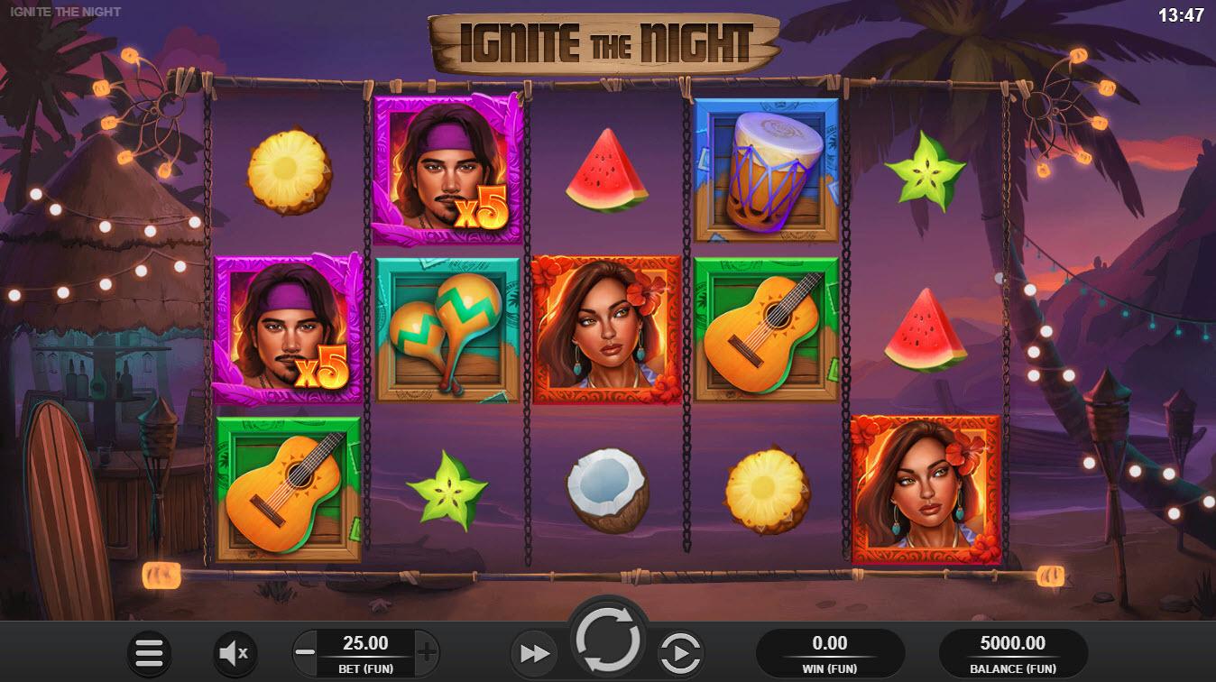 Ignite the Night :: Main Game Board
