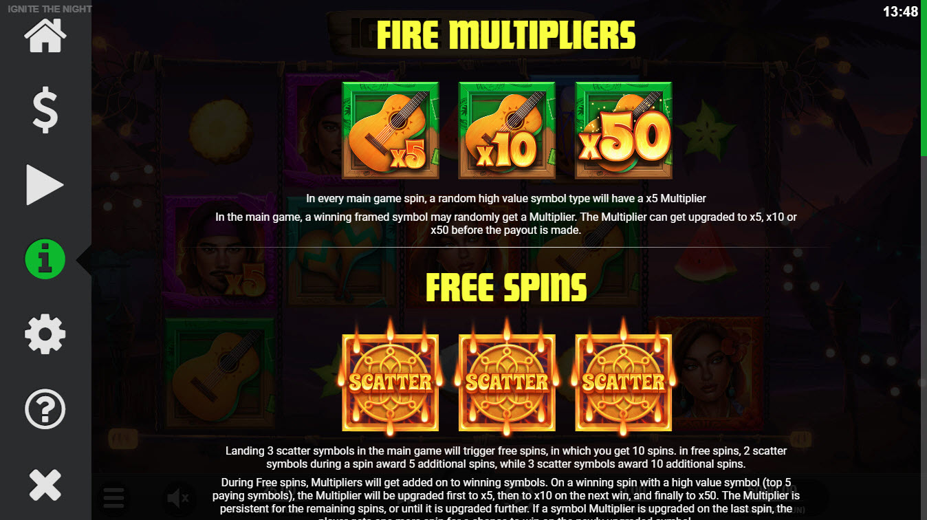 Ignite the Night :: Fire Multipliers