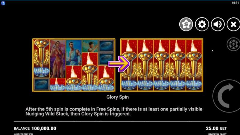 Immortal Glory :: Glory Spin
