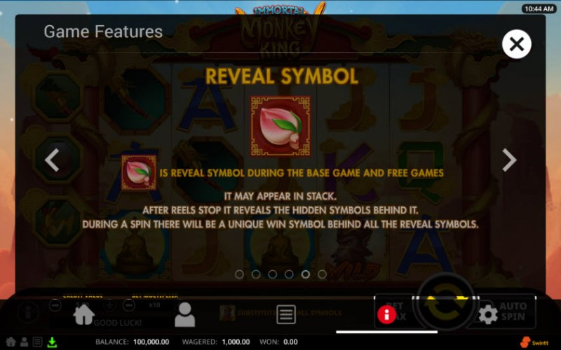 Immortal Monkey King :: Reveal Symbol