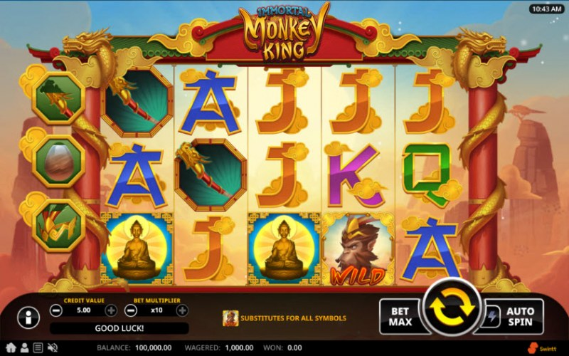 Immortal Monkey King :: Main Game Board
