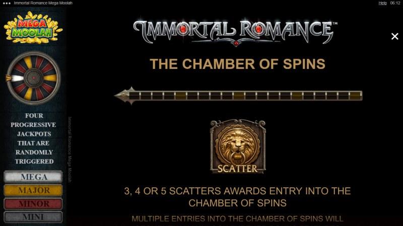 Immortal Romance Mega Moolah :: Chamber of Spins