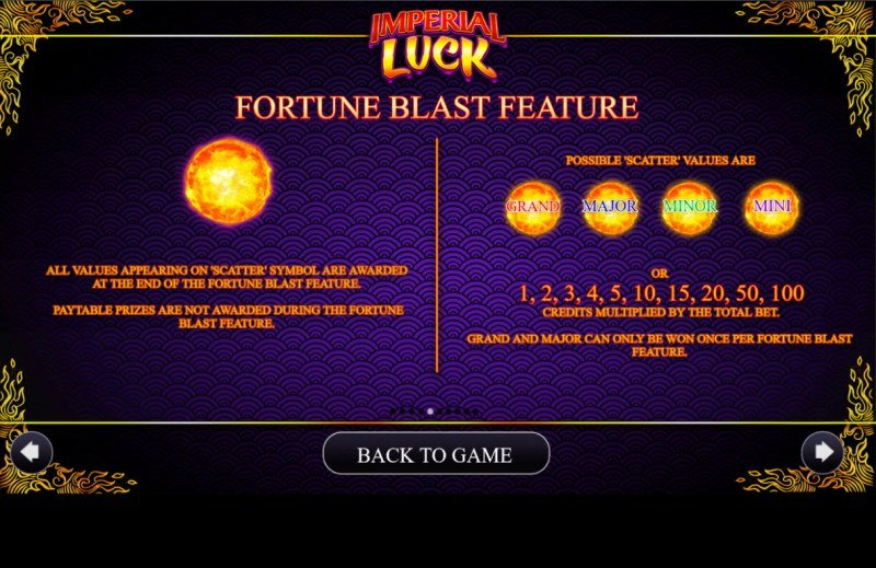 Imperial Luck :: Fortune Blast Feature
