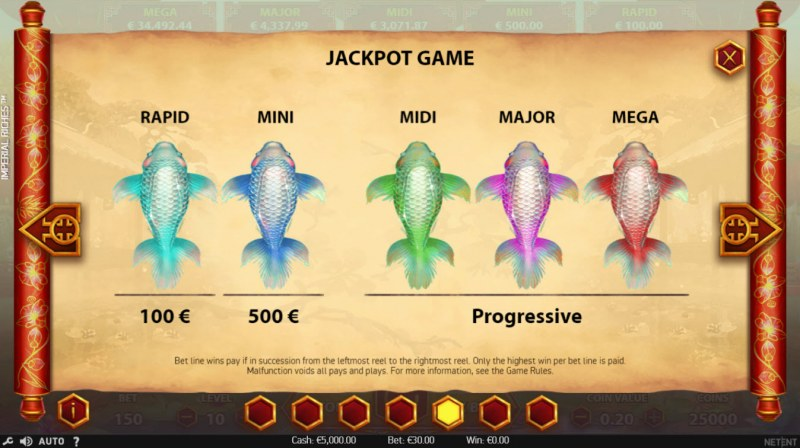 Imperial Riches :: Jackpot Game