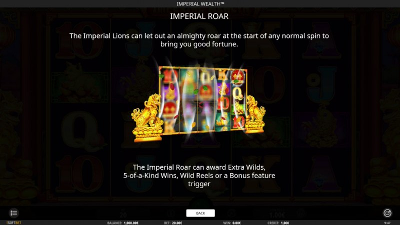 Imperial Wealth :: Imperial Roar Feature Rules