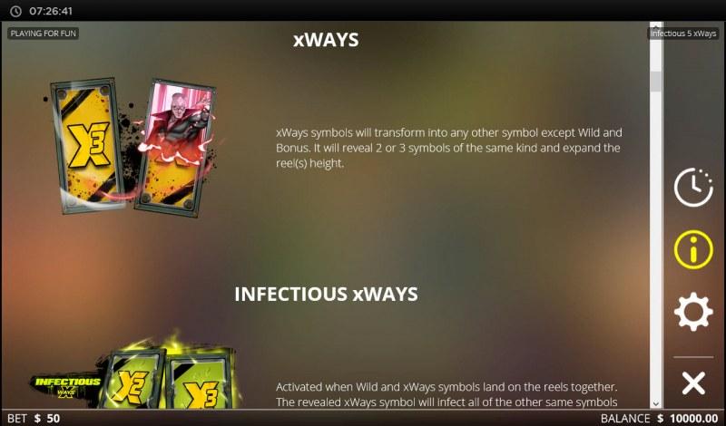 Infectious 5 xWays :: xWays