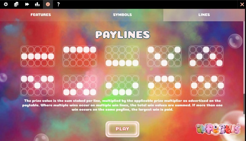 Infectus :: Paylines 1-10