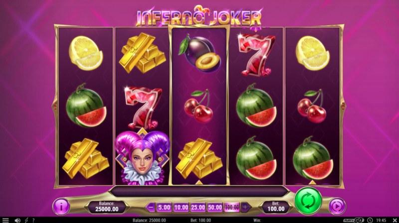 Inferno Joker :: Main Game Board