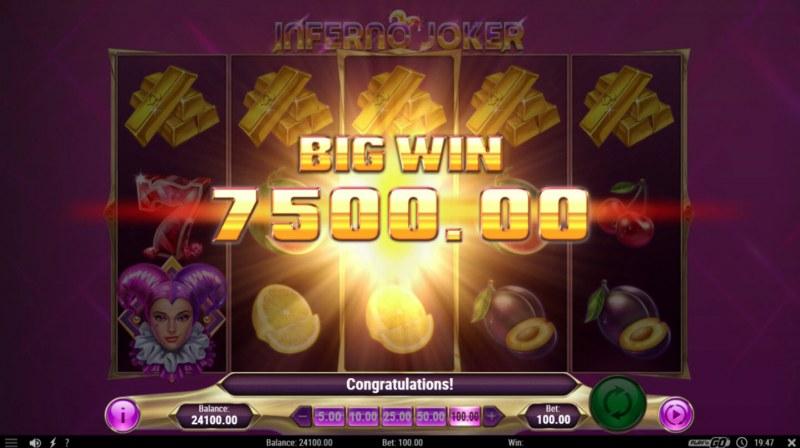 Inferno Joker :: Big Win