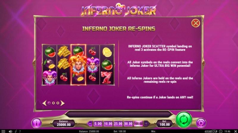 Inferno Joker :: Feature Rules