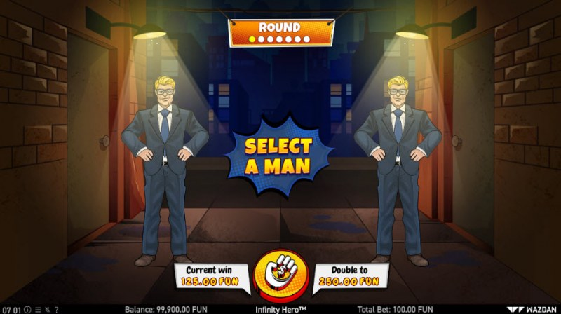 Infinity Hero :: Gamble Feature Game Board