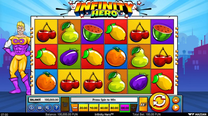 Infinity Hero :: Main Game Board