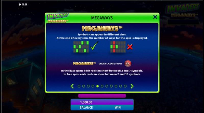 Invaders Megaways :: Megaways