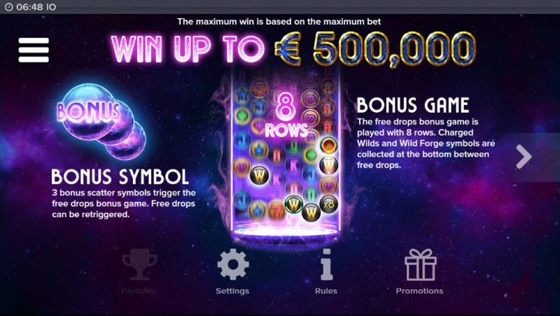 IO :: Bonus Game Rules