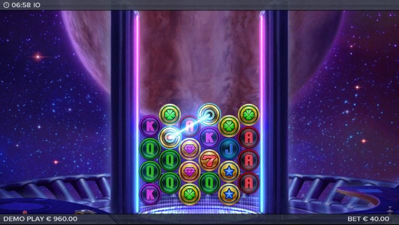 IO :: Laser feature triggered